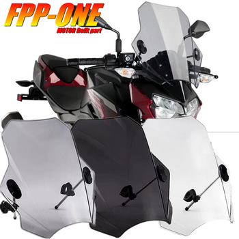 FOR KTM Duke 125 200 390 690 1190 1290 SUPER DUKE Motorcycle Accessories 22 26 28MM Handlebar Universal Windshield