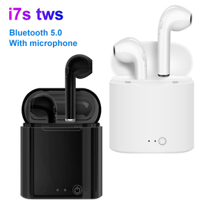 Wireless Earphones i7s TWS in-ear headphone Sport Earbuds With Mic bluetooth 5.0 earphone For Phone Xiaomi Samsung Huawei iPhone