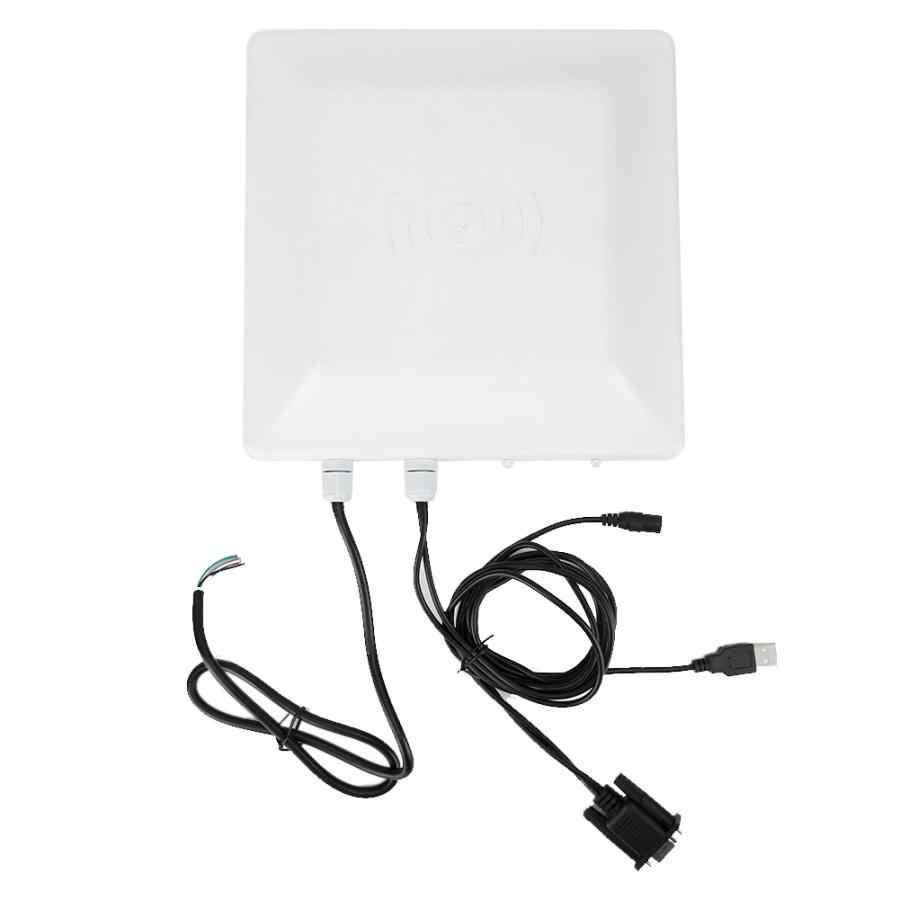 RFID UHF de largo alcance lector de tarjeta IP65 impermeable 10m lectura distanc para coche de estacionamiento Sistema de Control de Acceso 110- 240V