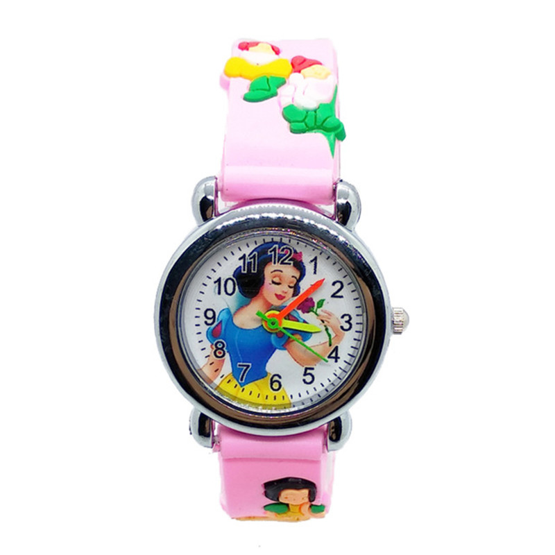 High-end HBiBi Brand Children Watch Green Plant Mushroom Child Wristwatches Cool Rubber Kids Watches For Kid Boys Girls Clock
