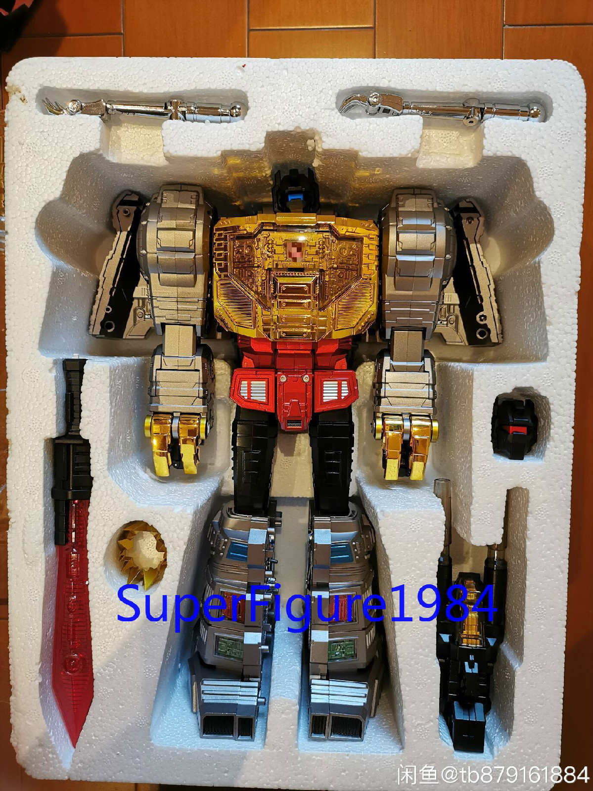 Transformers GigaPower HQ-01R Chrome Grimlock in Stock