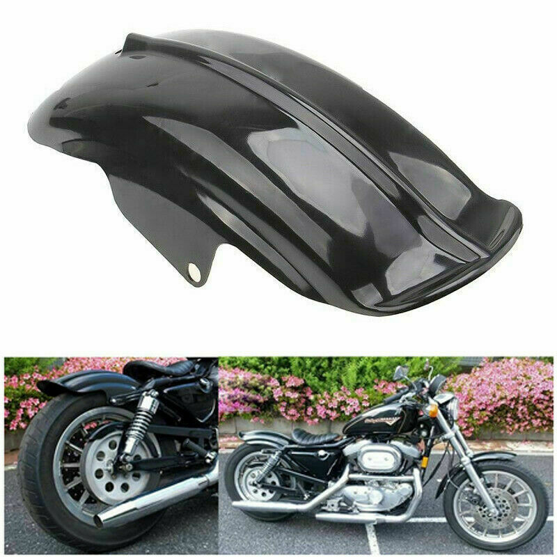 For Motorcycle Black Rear Mudguard Fender Accessory For Bobber Racer 1994-2003 C10