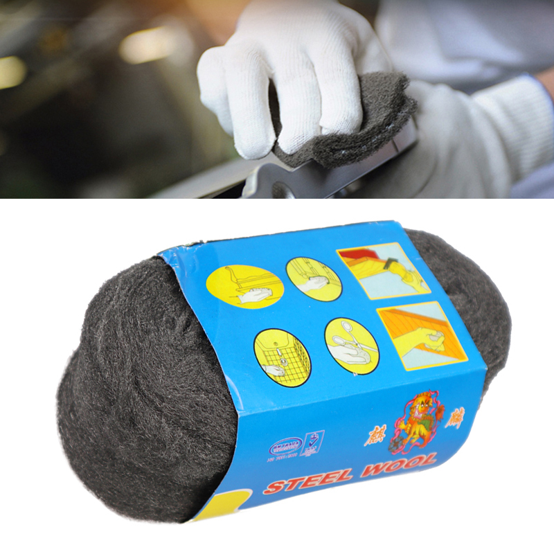 Portable Steel Wire Wool Grade 0000 3.3m For Polishing Cleaning Removing Remover Non Crumble New