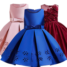 Цветочница принцессы платья для девочек;Вышивать нарядное платье для девочки;новогодний костюм для девочки;пышное праздничное платье для ...