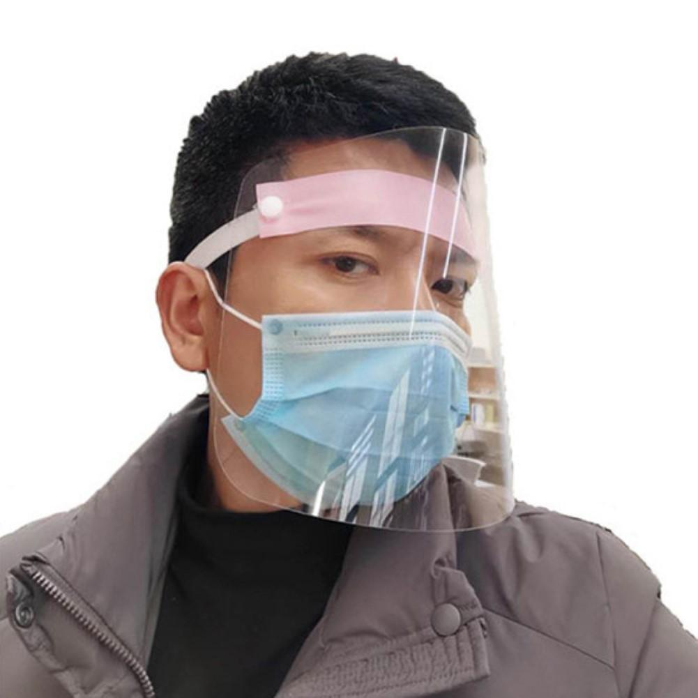 Anti-Fog Anti-Spatter Protective Mask Isolated Mask 360 Degree Antifoam Cap Hd Transparent Mask Clear Vision Isolation Face Mask