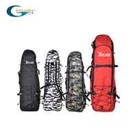 Free Diving Long Fins Bag Flipper Package Easy Carry Storage Bag with Shoulder Strap for Scuba Diving Snorkeling Gear Equipment