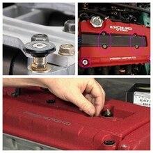 Для Honda Acura Kseries K20 K24 Jdm Низкопрофильная крышка клапана двигателя шайба болт Черный аксессуар для автомобиля