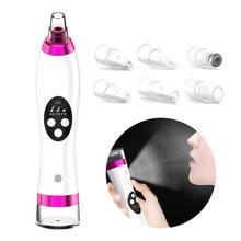 Blackhead Remover Face Deep Nose Cleaner T Zone Pore Acne Pimple Removal Vacuum Suction Facial Diamond Beauty Clean Skin Tool diozo blackhead remover pore acne pimple removal face deep nose cleaner vacuum suction facial diamond beauty clean skin tool