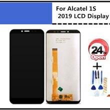 5,5 дюймов для Alcatel Работает с любым оператором, 1s 2019 5024 ot5024 ЖК-дисплей Дисплей + Сенсорная панель экрана для замены для 5024D 5024A 5024F сотовый телеф...