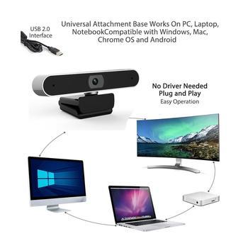 Web cam 1080P USB Digital Full HD Video Camera Auto Focusing Webcam Meeting Video with Microphone Video Call Computer Mini cam 3