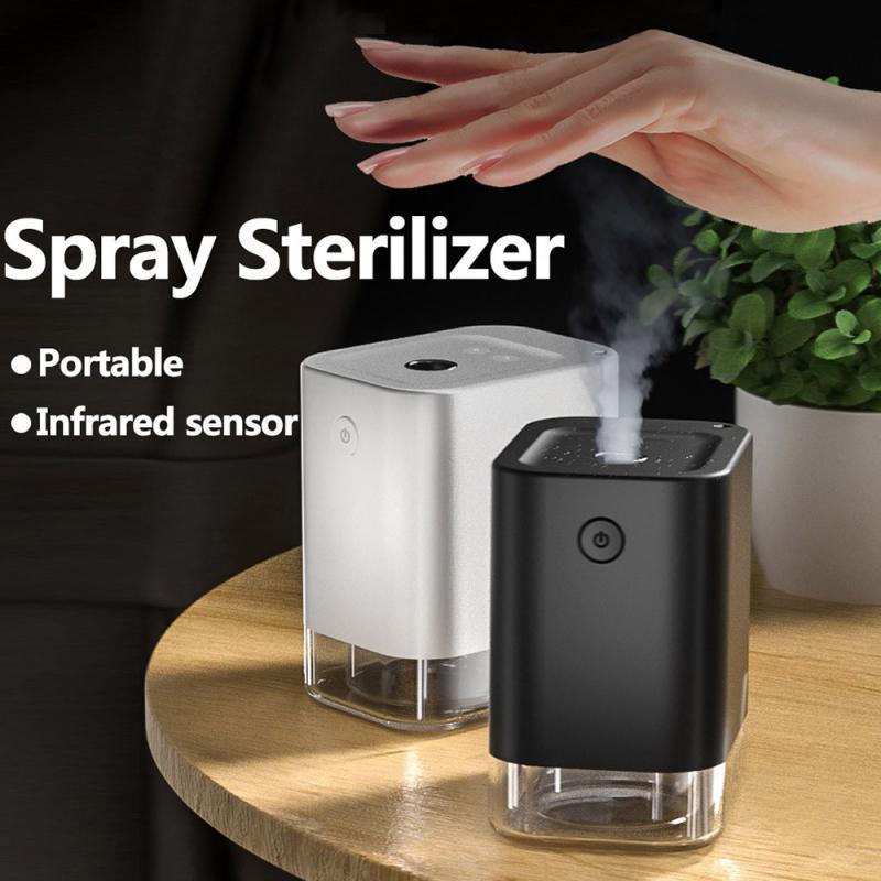 40-60 мл/ч автоматический индукционный туман дозатор мыла с распылителем для дезинфекции стерилизации для рабочего стола распыление спирта Б...