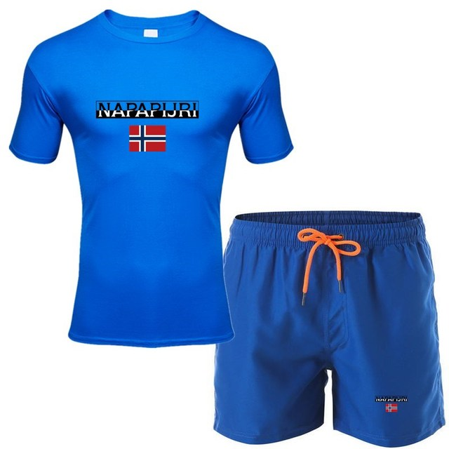 fashion men's shorts set