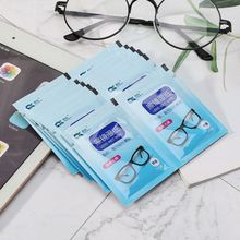 1 Box Glasses Cleaner Wet Wipes Cleaning Lens Disposable Anti Fog Misting Dust Remover Sung