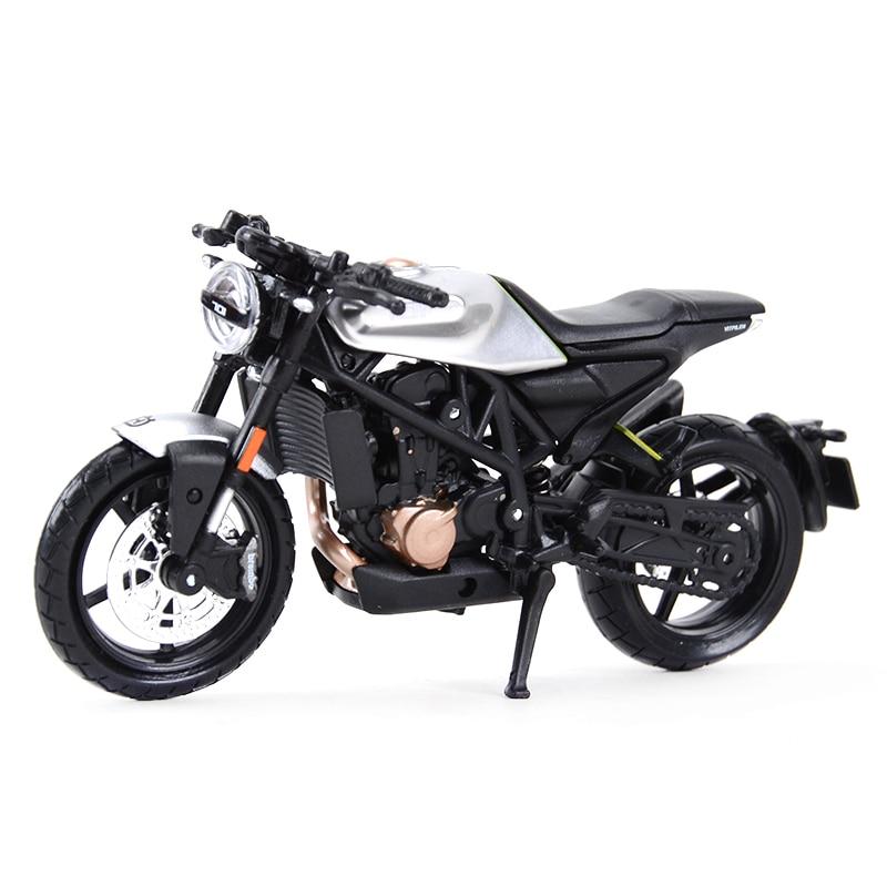 Maisto 1:18 2018 Husqvarna Vitpilen 701 Diecast Alloy Motorcycle Model Toy