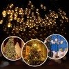 Solar Powered Lamp Garden 7m 12m 22m Outdoor Solar LED String Lights Waterproof Fairy Christmas Party Garland Decor Home Street review