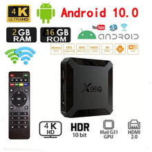 X96Q TV BOX Android 10 Allwinner H313 Quad Core Smart TV Android TV 4K 2.4G 5G Mini Smart Tv Box Set Top Box Media Player PK X96
