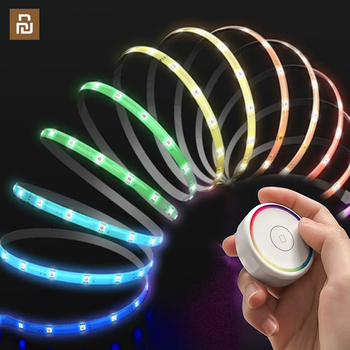 new EZVALO Smart Strips Light Colorful RGB Intelligent Light Strips Remote Control with touch from Xiaomi Youpin home