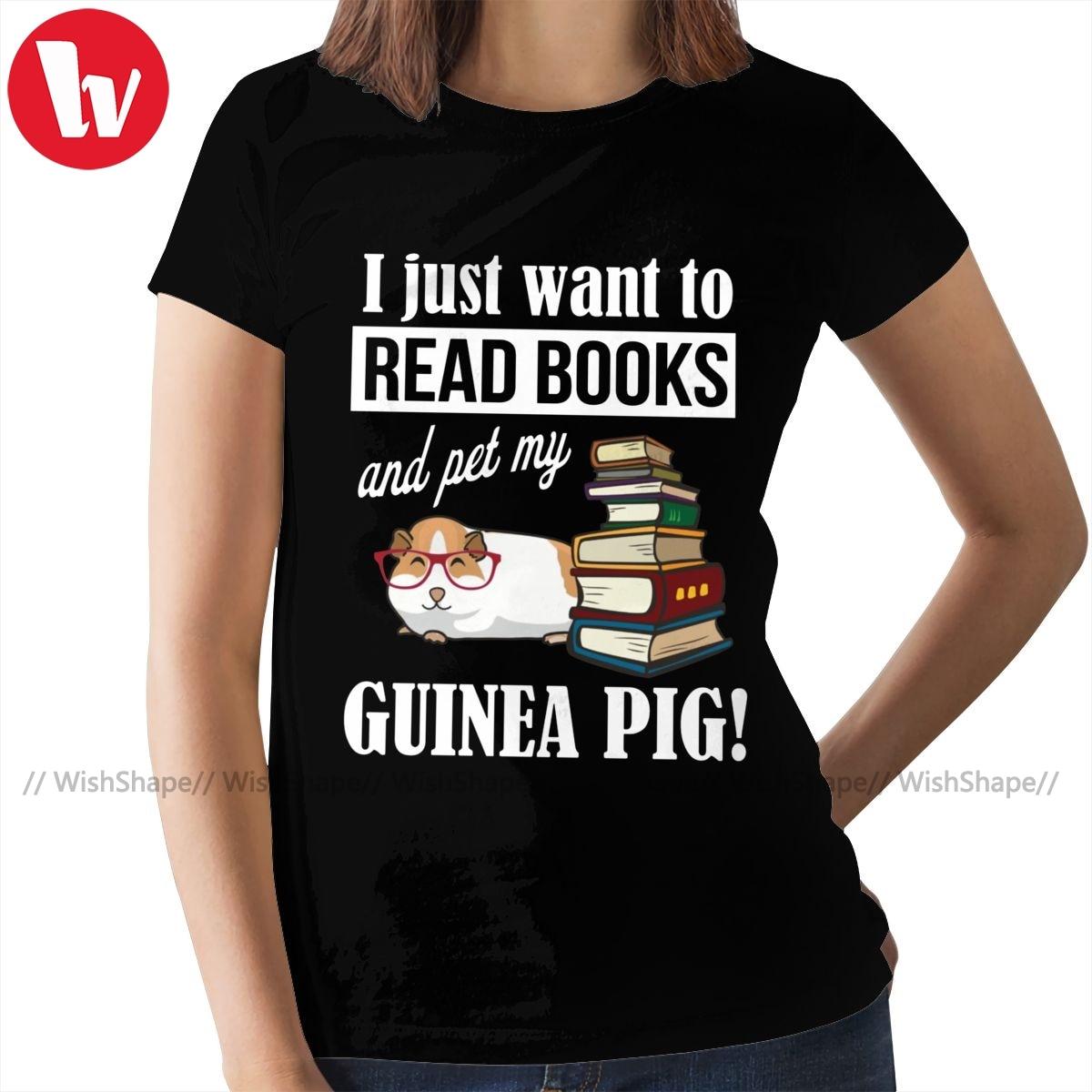 Guinea Pig T-Shirt Guinea Pig T Shirt New Fashion O Neck Women tshirt White Cotton Ladies Tee Shirt