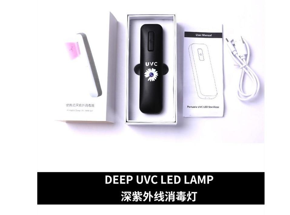 Lâmpada de desinfecção ultravioleta uvc portátil portátil