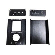 PortaPack אלומיניום מעטפת עבור HackRF אחד 1MHz 6GHz SDR מקלט ולהעביר AM FM SSB רדיו חם