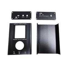 Powłoka aluminiowa PortaPack do HackRF One 1MHz 6GHz SDR odbiornik i transfer AM FM SSB Ham radio