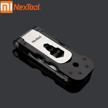 Xiaomi Youpin NexTool Multi-functional Bicycle Tool Mini Pocket Bike Toolbox Outdoor Wrench Repair Tool Magnetic Sleeve image