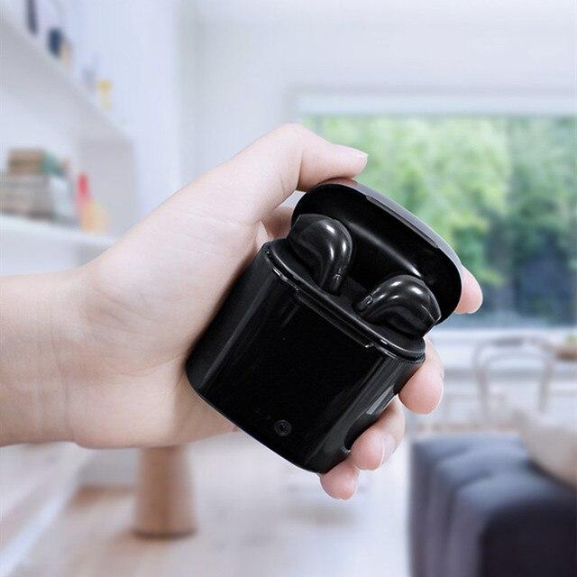 TWS i7 Bluetooth earphones music Headphones business headset sports earbuds suitable wireless Earpieces For xiaomi huawei iphone 5