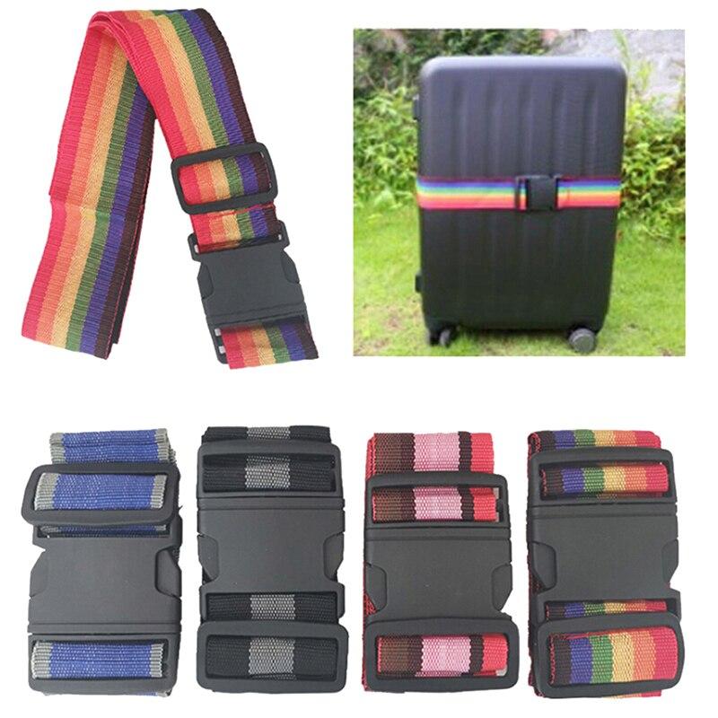 Аксессуары для сумок, регулируемый багаж для путешествий, чемодан с замком, безопасный ремень, багажный галстук, индивидуальные аксессуары