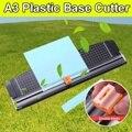 46.5x13cm portátil cortador de papel a3 base de plástico escritório casa papelaria faca de corte de cartão de papel lâmina arte aparador artesanato ferramentas