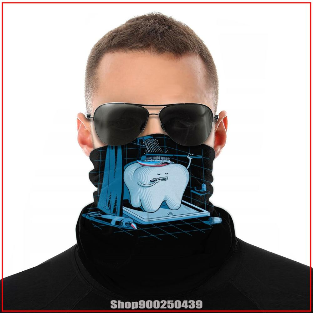 harry Dental Hygiene Tooth Healthy potter-loves bandanas bandana scarf DIY Cycling Windproof Neck Gaiter Quick Drying Headwears(China)