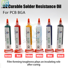 10cc UV Curable Solder Resistance Oil Mask Ink Welding Fluxes for Mobile PCB BGA Circuit Board Protecting