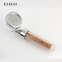 EHEH SPA Shower Head Water Saving High Pressure Boost Water Therapy Sprayer Rainfall Showerhead Bathroom Accessory