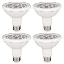 ICOCO 4PCS PAR30 12LED 12W Dimmable Short Neck 1000LM 3000K Warm White Spotlight LED Bulb Quivalent for 75W Halogen Bulb
