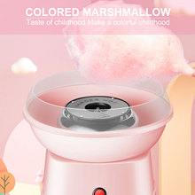 New Electric DIY Sweet Cotton Candy Maker Mini Portable Cotton Sugar Fairy Floss Marshmallow Machine Kids free gift Candy Maker