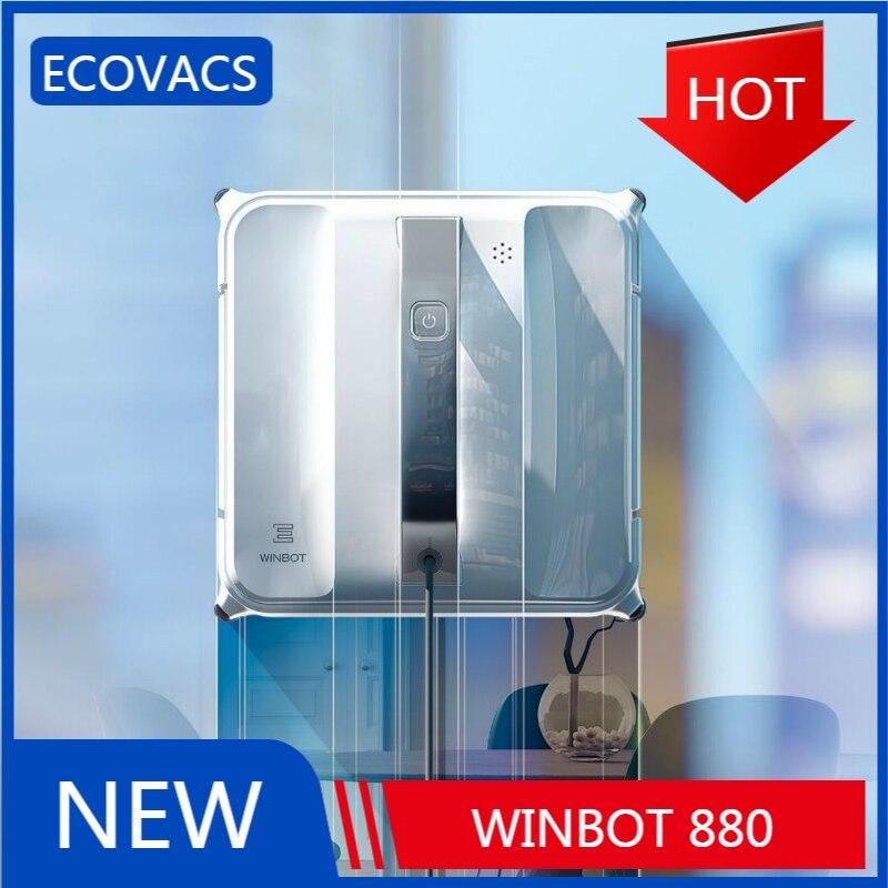 Nouveau 2020 Ecovacs Winbot 880 Robot de nettoyage de vitres automatique ménage Intelligent électrique artefact fenêtre aspirateur