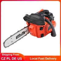 12 zoll Benzin Kettensäge 900W Elektrische Kettensäge Holz Schneiden Kettensägen DIY Power Tool 25,4 CC 3000r/min