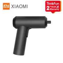 Xiaomi-destornillador eléctrico Mijia Original, 5N.m, alto Torque, inalámbrico, batería de 2000mAh, luces LED, S2, broca de acero, herramientas de reparación para el hogar