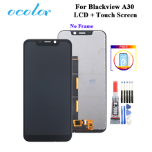 """ocolor For Blackview A30 LCD Display and Touch Screen 5.5"""" Digitizer  Replacement + Tools + Glue +Film For Blackview A30 LCD"""