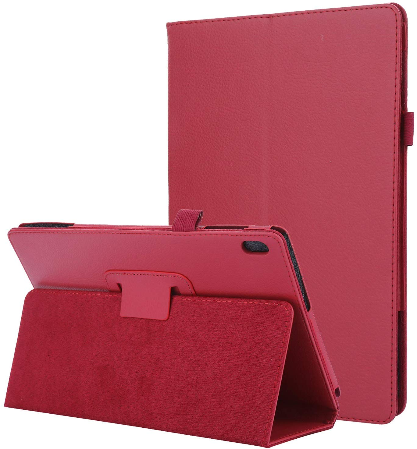 <font><b>Case</b></font> for <font><b>Lenovo</b></font> Tab P10 <font><b>TB</b></font>-<font><b>X705L</b></font> 10.1 Auto Sleep Wake Up PU Leather Cover For <font><b>Lenovo</b></font> Tab M10 10.1 <font><b>TB</b></font>-X605L Full Body Protective image