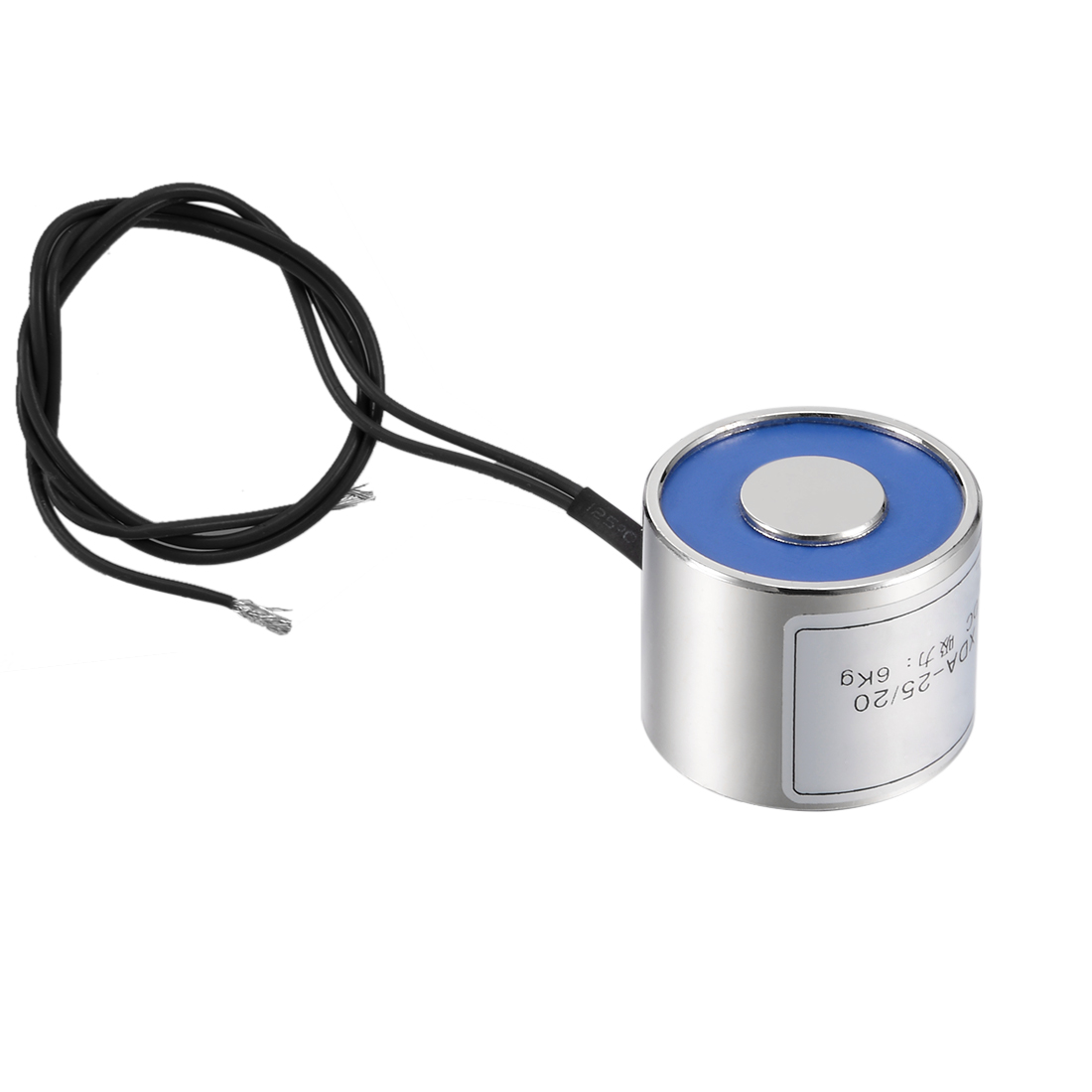 Uxcell 25mm X 20mm DC12V 60N Sucking Disc Solenoid Lift Holding Electromagnet