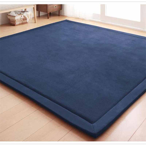 Image 4 - Chpermore Simple Tatami Mats Large Carpets Thickened Bedroom Carpet Children Climbed Playmat Home Lving Room Rug Floor Rugs