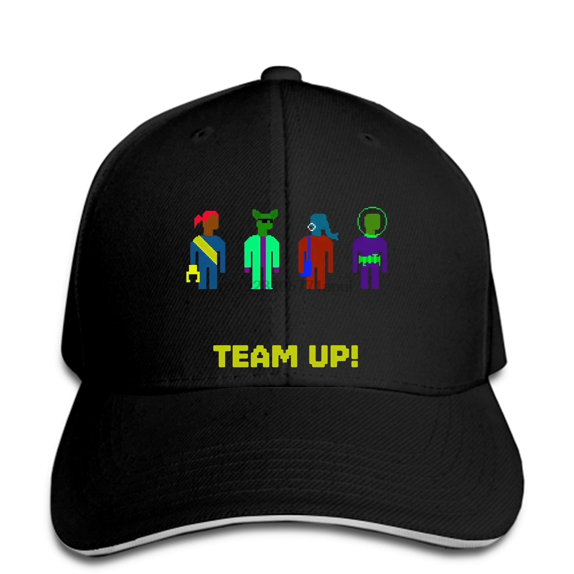 Baseball cap Custom Printed Men Print hat Spaceteam Team Up! snapback Women Baseball caps