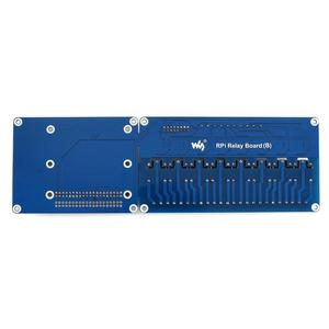 Image 3 - Waveshare RPI Expansion Board 8 Channel Relay Board for Raspberry Pi A+/B+/2B/3B/3B+ Onboard LED RPi Relay Board (B)