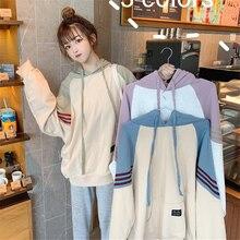 korean oversized hoodie kawaii womens sweatshirt women hoodies long sleeve clothing  japanese
