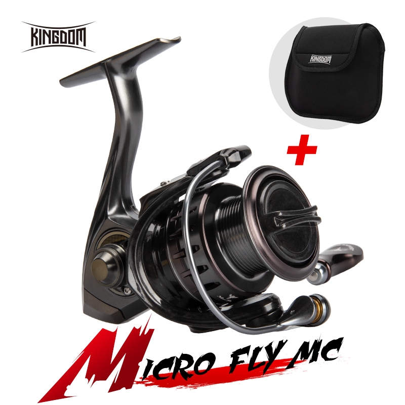 Kingdom New MC <font><b>10</b></font>+1BB High Quality Spinning & Fishing Reels 800 <font><b>1000</b></font> 2000 3000 Gear Ratio 5:2:1 High Speed Spinning Carbon Reels image
