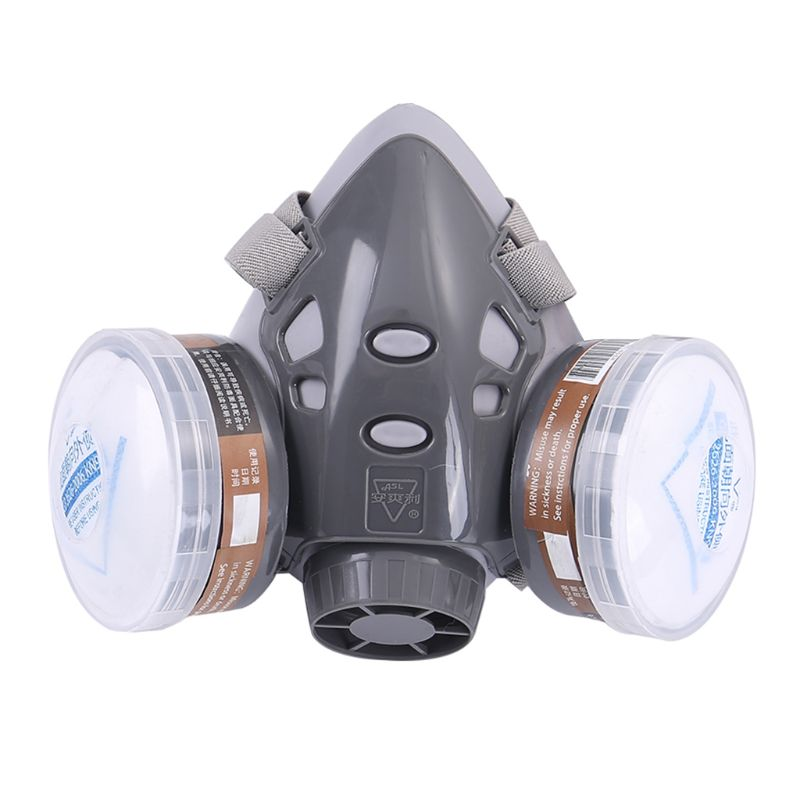 Full Facemask Respirator Gas Mask Filter Dust Protective Facepiece Mask For Paint Spraying  E65A
