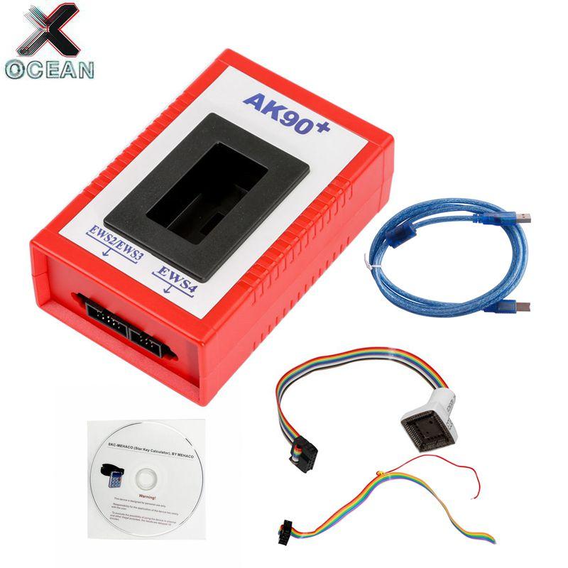 Factory Price! OBD2 Newest Version V3.19 AK90 Key Programing Tool AK90+ For BMW AK90 Key Programmer AK-90 Car Diagnostic Tool