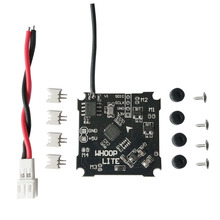 Flight Controller Board with Silverware Firmware For Whoop Lite Mini Brushed Flight Control with 55mm PH-JST 2.0 Power Cable new kk2 1 5 pro lcd flight control board 6050mpu 644pa multirotor kk2 kk2 1 usa
