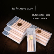 Carving Tool Wood Carving Knife Manual Knife Combination Tool Set Multifunctional Wood Woodworking Special Rubber ANJIESHUN