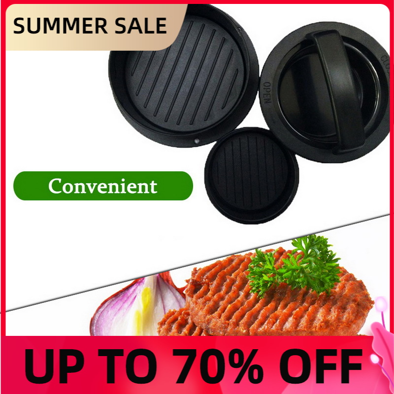 ABS hamburger 1 set of pastry tools barbecue kitchen accessories press meatloaf round burgerMeatloaf and Meat Pie